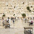 The Western Wall In Jerusalem Israel by Jacek Malipan