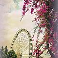 The Wheel Of Brisbane by Toni Abdnour