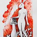 The White Bunny by Antonio Guerrero