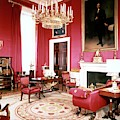 The White House Red Room by Tom Leonard