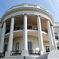 The White House South Portico by Ed Weidman