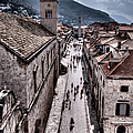 The White Tower In The Stradun From The Ramparts by Weston Westmoreland
