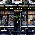 The Wife Knows Pub by David Pyatt