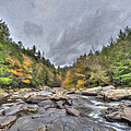 The Wild River Oil Painting by Patrick Wolf
