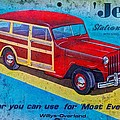 The Willys - Overland Jeep Station Wagon by Michael Mazaika