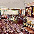 The Windham Arms Lounge In Windham M Y by Dwight Goss