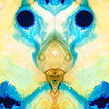 The Wise Ones - Visionary Art By Sharon Cummings by Sharon Cummings