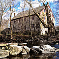 The Wissahickon Creek And Mather Mill by Bill Cannon