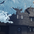 The Witch House In Infrared by Jeff Folger