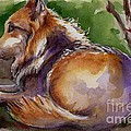 The Wolf Star by Maria's Watercolor