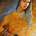 The Wonderment Of Mary - Virgin Mary Madonna Mother Of Jesus Christ Child by Carla Holiday