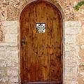 The Wood Door by Cristina Stefan