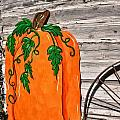 The Wooden Pumpkin by Image Takers Photography LLC - Carol Haddon