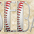 The Word Is Baseball by Andee Design