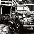 Old Dodge Left In The Cove by Roxy Hurtubise