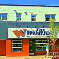 The Works Burger Joint Ottawa The Glebe Cafes Roadfood Diners Drive Bys Urban Eateries C Spandau Art by Carole Spandau