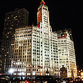 The Wrigley Building-chicago by Roger Lapinski