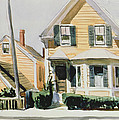 The Yellow House by Edward Hopper