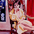 The Yellow Robe by David Zimmerman