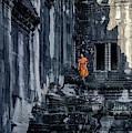 The Young Monk by Gloria Salgado Gispert