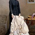 The Young Widow, 1877 by Edward Killingworth Johnson