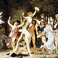 The Youth Of Bacchus by William Bouguereau