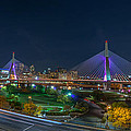 The Zakim Bridge by Bryan Xavier
