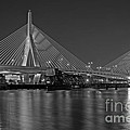 The Zakim Bridge Bw by Susan Candelario