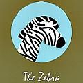 The Zebra Cute Portrait by Florian Rodarte