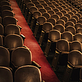 Theater Seats by Margie Hurwich