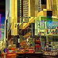 Theatre District - Neighborhoods Of New York City by Miriam Danar