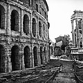 Theatre Of Marcellus by Melany Sarafis