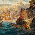 The Crusader Invasion Of Constantinople by Vasilios Chatzis