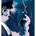 Thelonious Monk by Garth Glazier