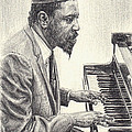 Thelonious Monk II by Michael Morgan