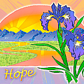 Themes Of The Heart-hope by Teresa Ascone