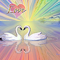 Themes Of The Heart-love by Teresa Ascone