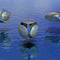 Then There Were Three - Surrealism by Sipo Liimatainen