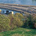 Theodore Roosevelt Bridge, Washington by Panoramic Images