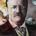 Theodore Roosevelt by Corporate Art Task Force