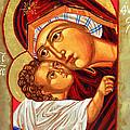 Theotokos by Munir Alawi