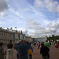 They Come To Catherine Palace - St. Petersburg - Russia by Madeline Ellis