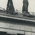 They Don't Like Them Any More; Peron Statues - Covered In by Retro Images Archive