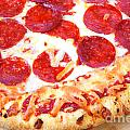 Thick Crust Peperoni Pizza by James BO  Insogna