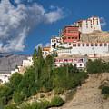 Thiksay Monastery Ladakh Jammu And Kashmir India by Rudra Narayan  Mitra