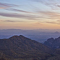 Thimble Peak At Sunset by Patrick Moore