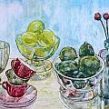 Thinking Of Cezanne Green by Anna Ruzsan