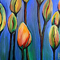 Thinking Spring by Art by Kar