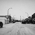 third avenue main street through Kamsack Saskatchewan Canada by Joe Fox