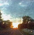 Third Sunset by Pharris Art